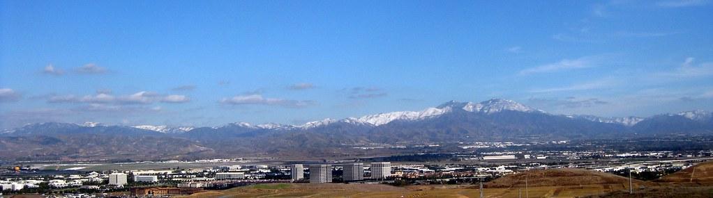 Santa Ana Mountains Snow - Quail Hill Revisited