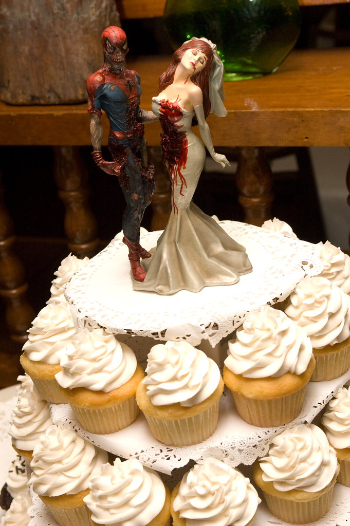 The Zombie Cake Topper