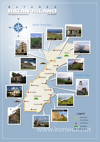 Batanes Batan Island Map