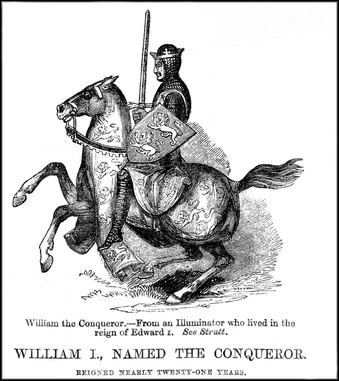 William The Conqueror On Horseback