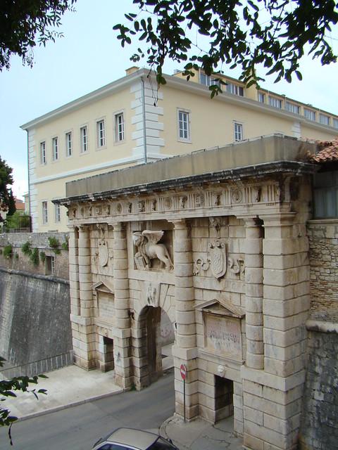 Zadar Puerta Terraferma o de Zara Croacia 42