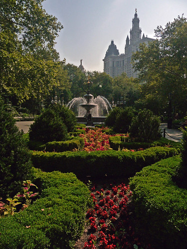 City Hall Park - Lower Manhattan
