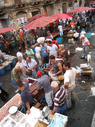 Catania, pescheria (fish market)