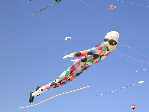 Harlequin Kite