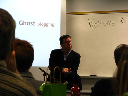 Ghost Blogging... Welcome to