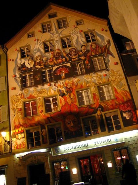 Halloween in Switzerland