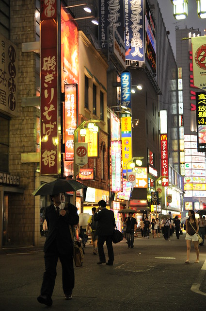 Kabukicho Tokyo S Red Light District Flickr Photo