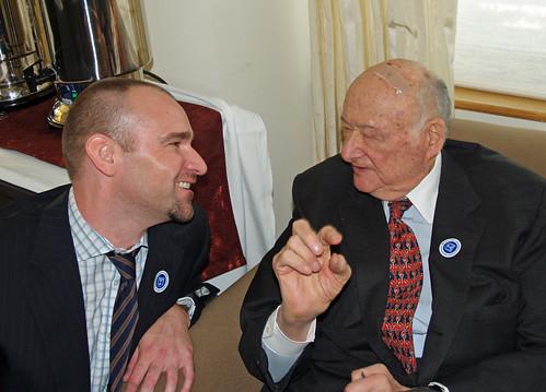 David Shankbone and Ed Koch