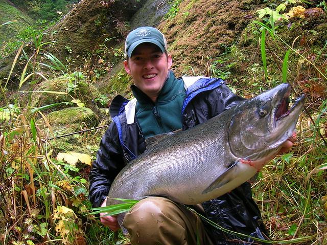 Nate and Nic salmon Trip