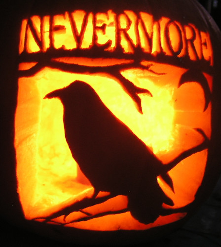 The Raven Pumpkin