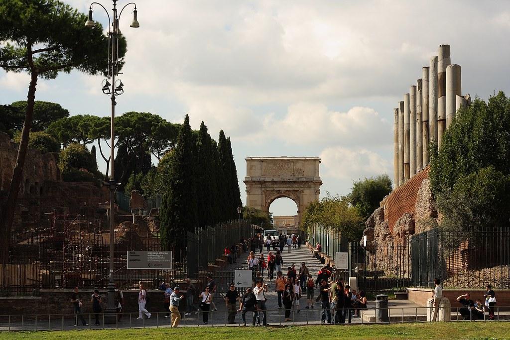 Foro Romano - Arco de Tito
