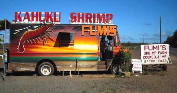 Shrimp Trucks, Kahuku