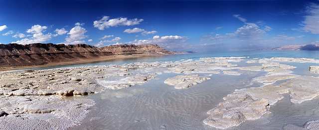 Salt formations - Dead Sea