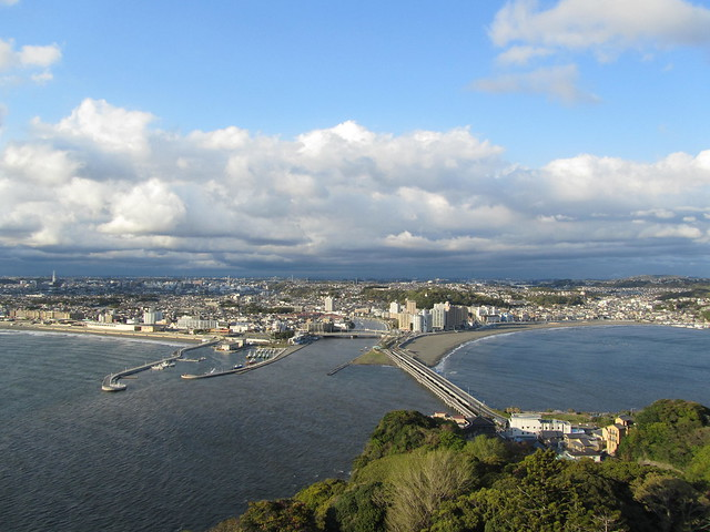 View from Enoshima Observation Lighthouse