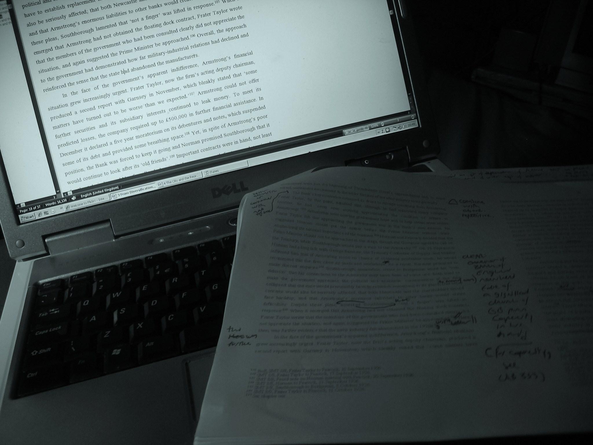 """""""Writing"""", 22 November 2008"""