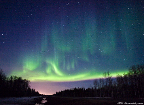 Northern Lights over Fort McMurray