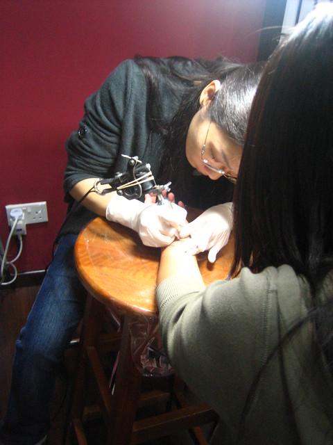 needled