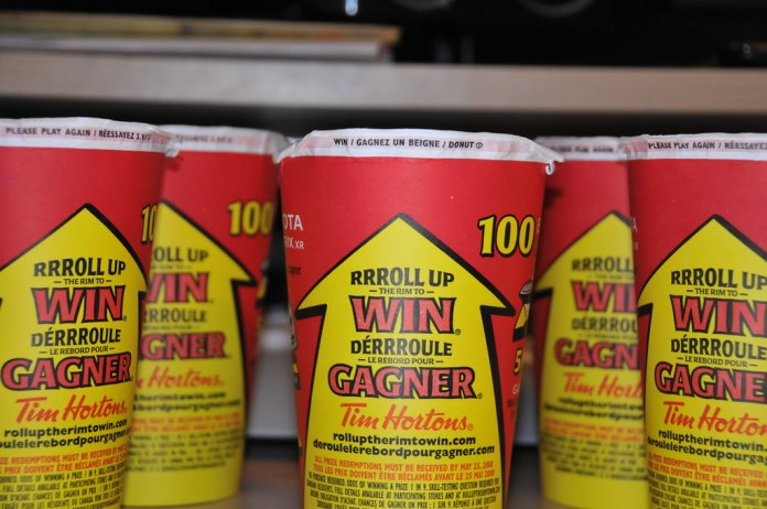 Tim Hortons Cancels Roll Up The Rim Paper Cups Amid Coronavirus Concerns