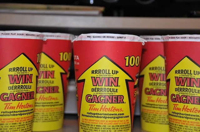 Tim Hortons Roll Up The Rim is Back