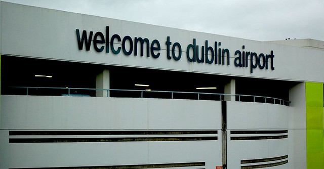 Welcome to Dublin Airport, by forzadagro on Flickr.