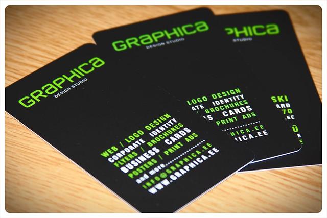 Business Cards for GRAPHICA Design Studio