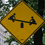 Warning - Seesaw ahead