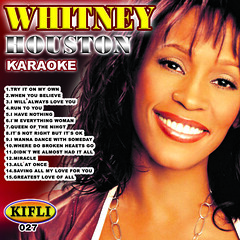 0027 WHITNEY HOUSTON [KARAOKE]