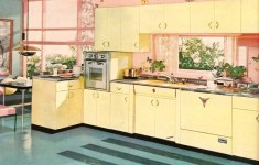 Beautifully 50's Kitchen That Look Like From The Fairy Tales