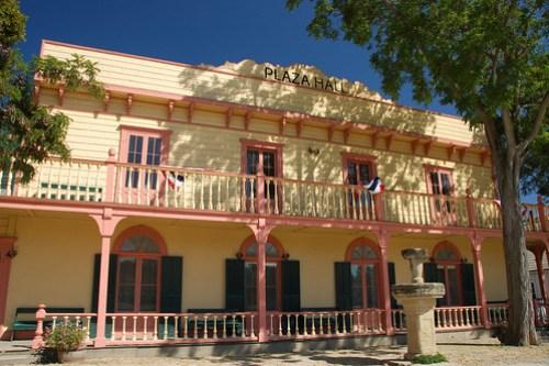 Plaza Hall at San Juan Bautista