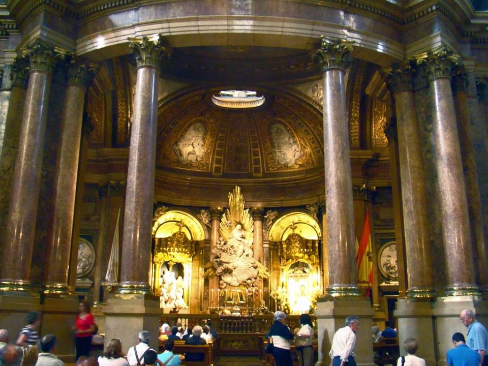 Capilla de Nuestra Señora del Pilar Catedral Basilica de Nuestra Señora del Pilar Zaragoza 29