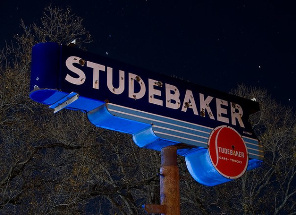 Studebaker - Weatherford, Texas U.S.A. - December 15, 2008