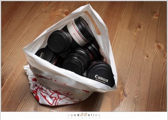Een tas vol lenzen, welke gebruiken we en waarom. Een vraag waarop ik in dit artikel antwoord wil geven.