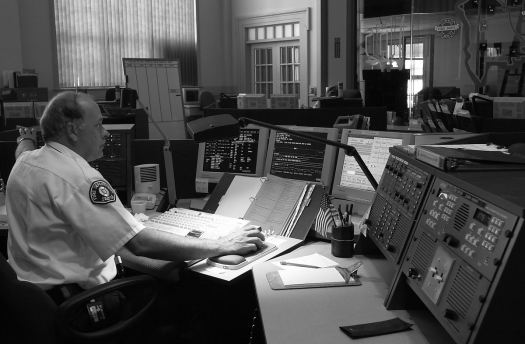 911 call center, 2001