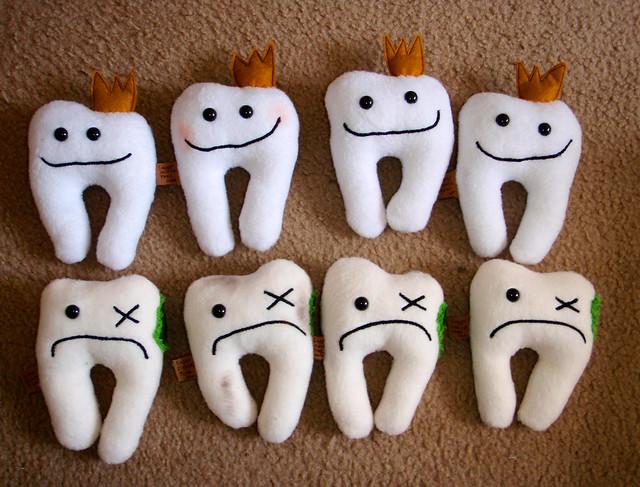 New! Tooth holder Plush