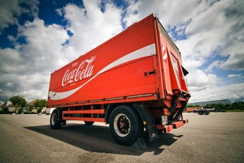 The Cola Truck by Martin Gommel