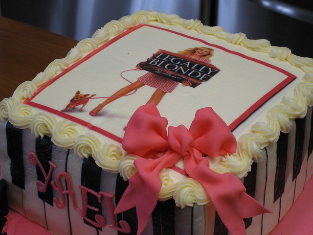 Legally Blonde Musical Birthday Cake Flickr Photo Sharing