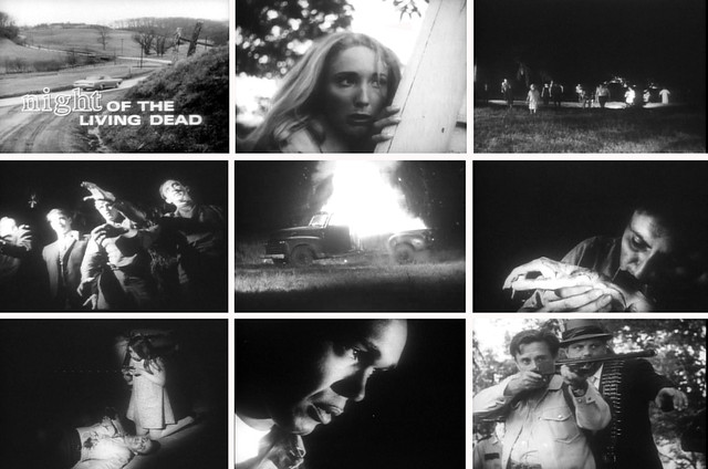 Night of the Living Dead montage