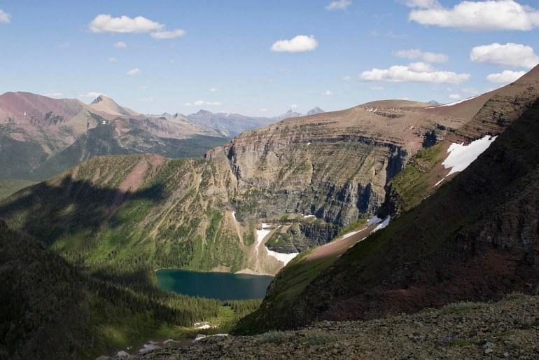 Wall Lake and Akamina Ridge