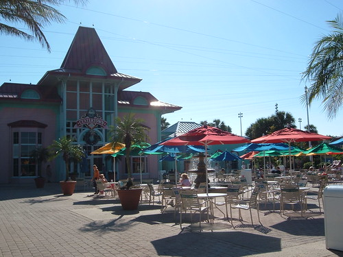 Food Patio at Walt Disney World Caribbean Beach Club Resort