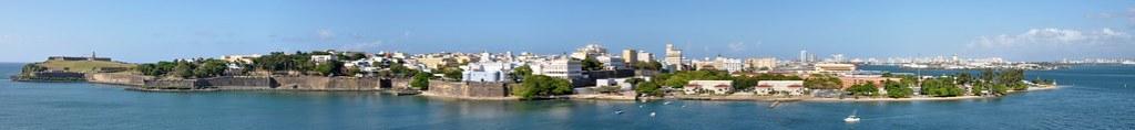Old San Juan, Puerto Rico pano
