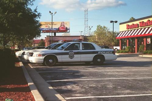 The cops gotta eat sometime