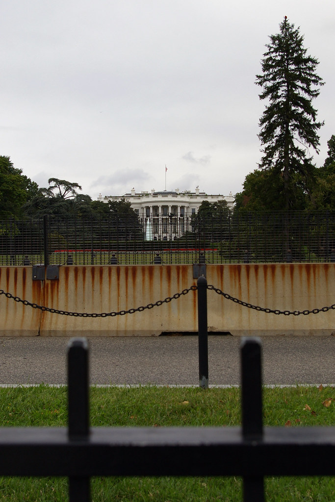 White House fences