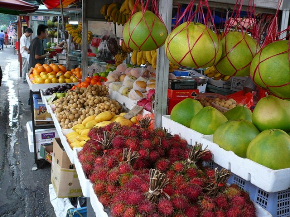 Fruit market, KL