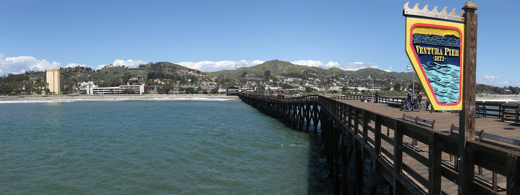 Ventura Pier Looking Back