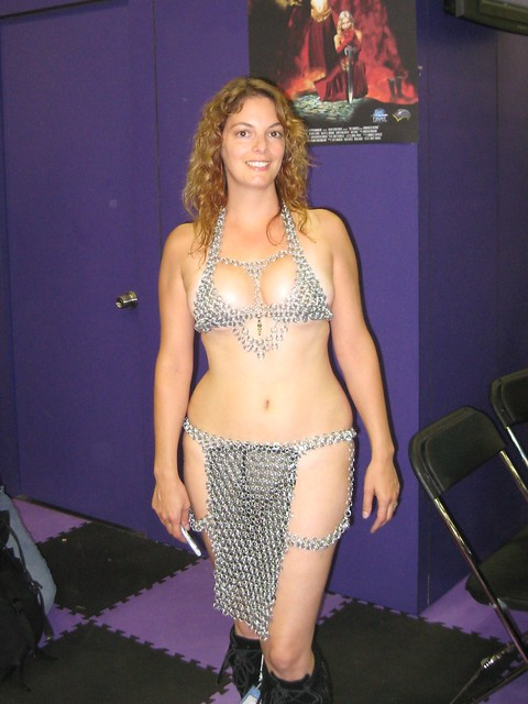 Chain Mail Woman