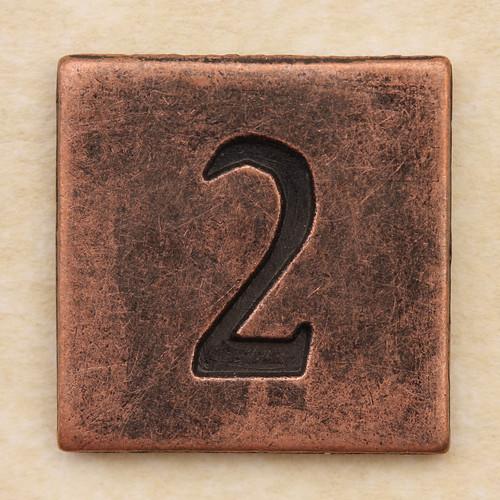 Copper Square Number 2