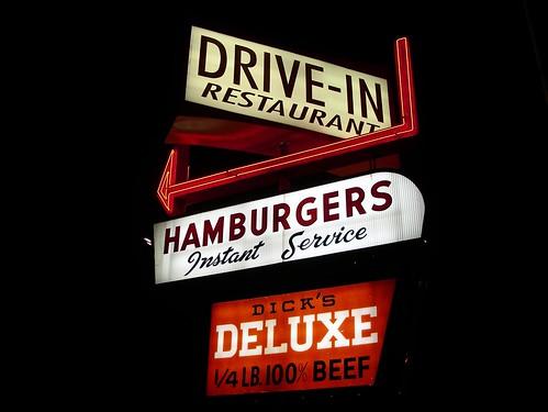 Hamburgers Instant Service