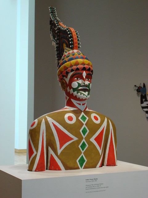 Pasaquan Man By St. EOM At The High