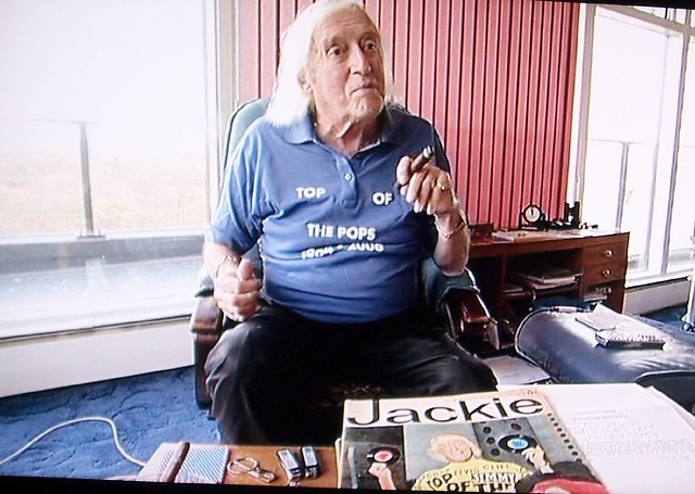 Jimmy Savile on my telly