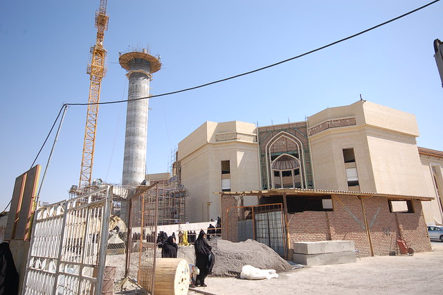 New Mosque Building in Tabriz, Iran